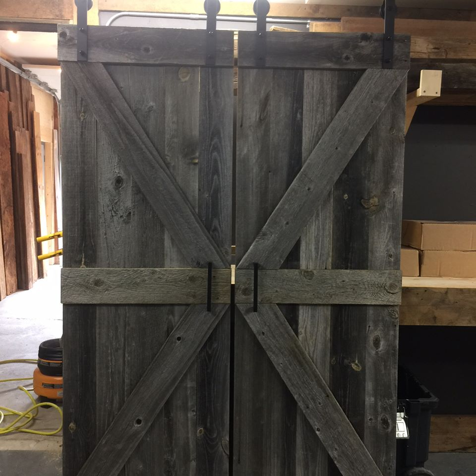 Barndoors – JMF Custom Wood Features l Barndoors • Feature Walls ...