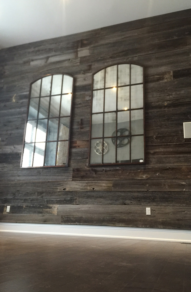 Feature Walls Jmf Custom Wood Features L Barndoors