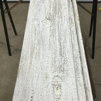 Barnwood Painted White