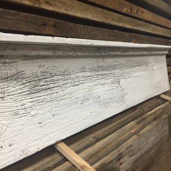 Barnwood Painted White